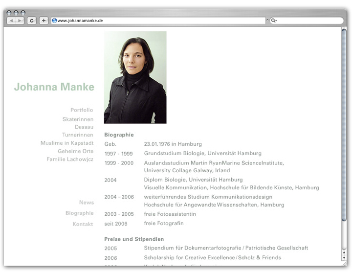 Johanna Website 3