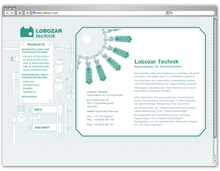 Lobozar Website 1