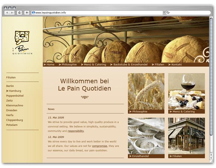 Baguette Website 1