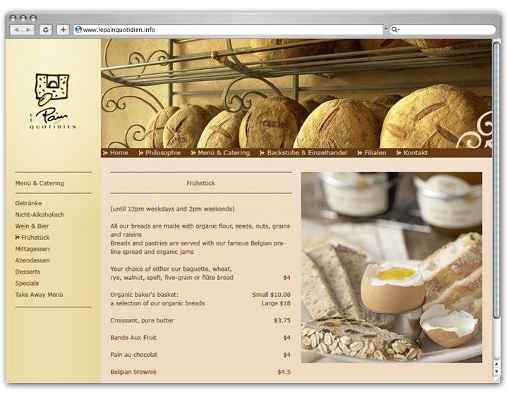 Baguette Website 2