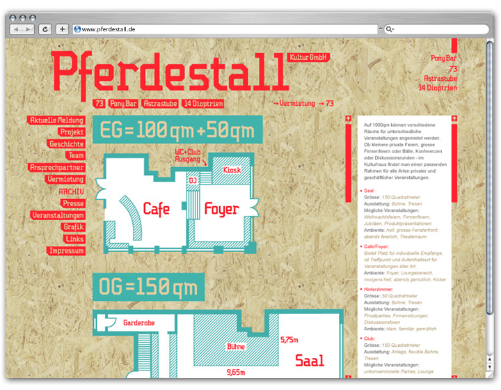 Pferdestall Website 4